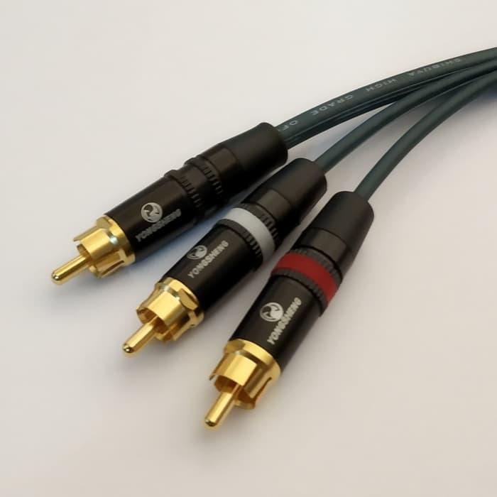 Kabel Av Rca 3 3 Shibuya 3m Tokokabel Com
