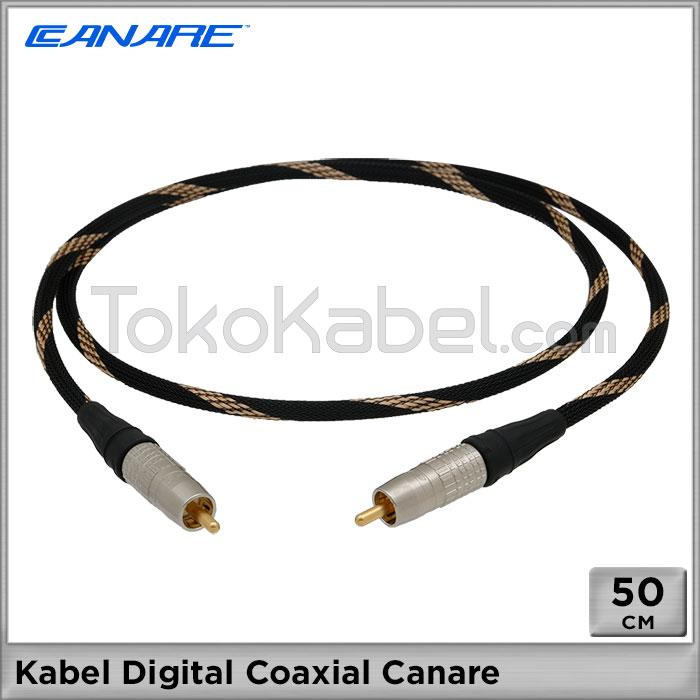 Kabel Digital Coaxial Canare 50cm Tokokabel Com