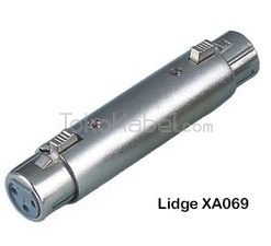 Adapter XLR Female to XLR Female, Lidge XA069