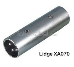 Adapter XLR Male to XLR Male, Lidge XA070