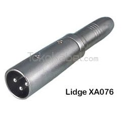 Adapter XLR Male to TRS Female, Lidge XA076