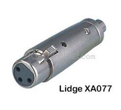 Adapter XLR Female to RCA Female, Lidge XA077